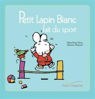 خرید کتاب فرانسه Petit lapin blanc fait du sport