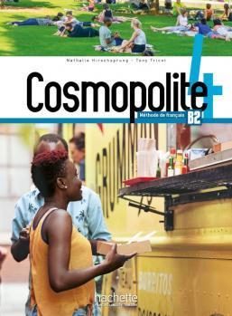 خرید کتاب فرانسه Cosmopolite 4 : Livre de l'élève + Cahier + DVD-ROM