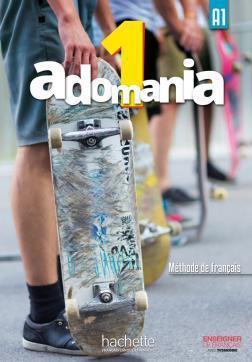 خرید کتاب فرانسه Adomania 1 + Cahier + DVD