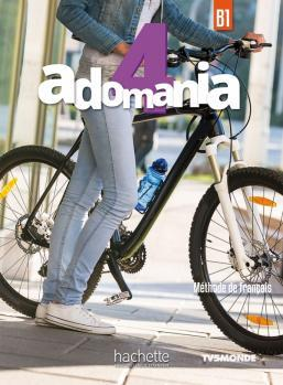 خرید کتاب فرانسه Adomania 4 + Cahier + DVD