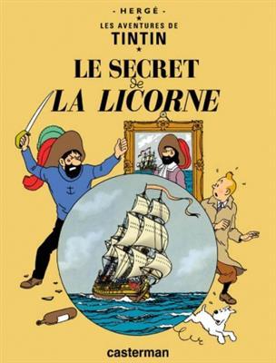 خرید کتاب فرانسه Tintin T11 : Le Secret de la licorne