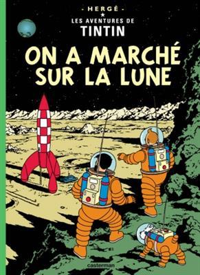 خرید کتاب فرانسه  Tintin T17 : On a marche sur la lune