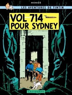 خرید کتاب فرانسه  Tintin T22 : Vol 714 pour Sydney