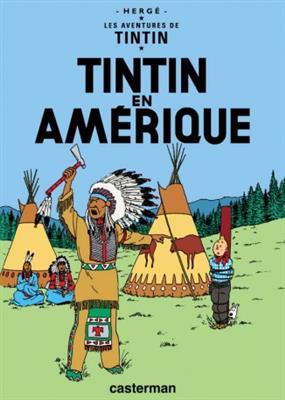 خرید کتاب فرانسه Tintin T3 : Tintin en Amerique