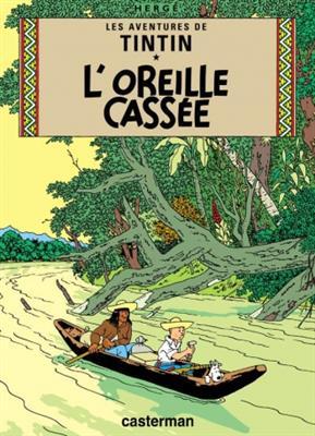 خرید کتاب فرانسه Tintin T6 : L' Oreille cassee