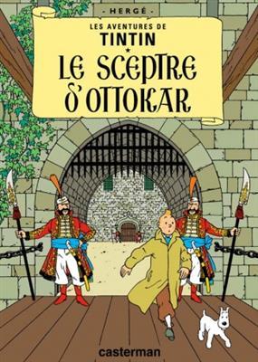 خرید کتاب فرانسه Tintin T8 : Le Sceptre d'Ottokar
