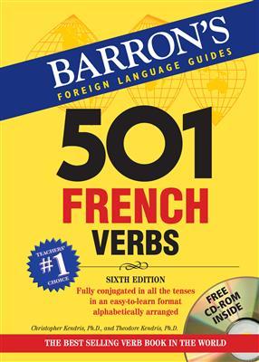 خرید کتاب فرانسه 501 French verbes