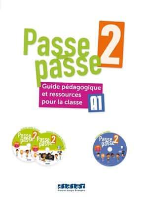 خرید کتاب فرانسه Passe – passe niv. 2 – Guide pédagogique