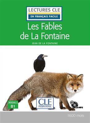 خرید کتاب فرانسه Les fables de la Fontaine - Niveau 3/B1 + CD