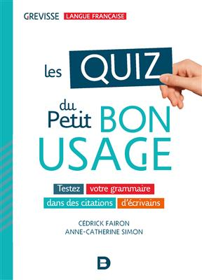 خرید کتاب فرانسه les QUIZ du Petit Bon Usage