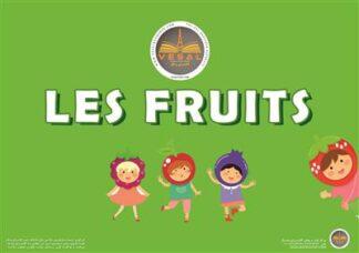 خرید فلش کارت فرانسه میوهها LES FRUITS