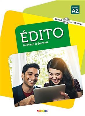 خرید کتاب فرانسه Edito A2 + Cahier + DVD