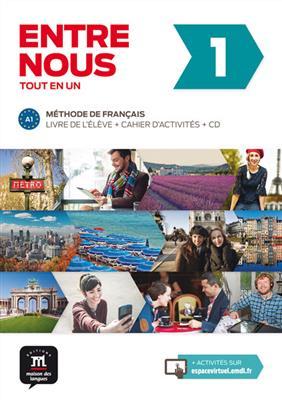 خرید کتاب فرانسه Entre nous 1 + CD