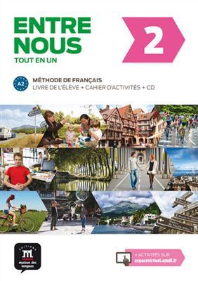خرید کتاب فرانسه Entre nous 2 + CD