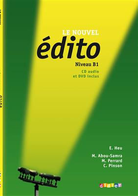 خرید کتاب فرانسه Le nouvel Edito B1 + cahier + DVD